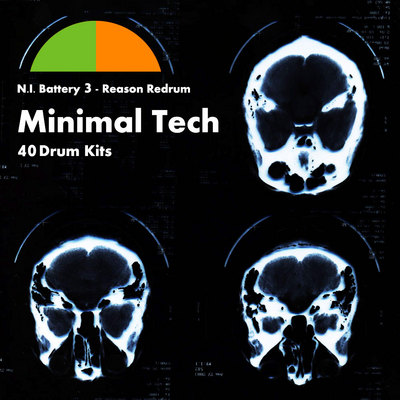 Product picture Minimal Tech 40 Drum Kits
