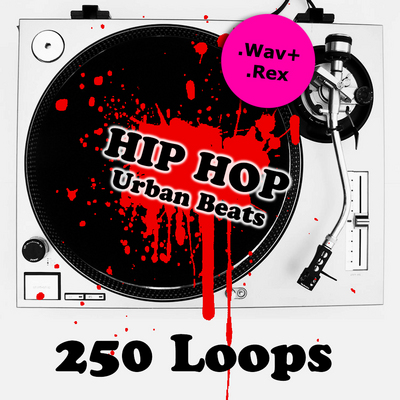 Product picture 250 Hip Hop Urban Loops