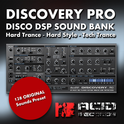 Product picture Discovery Pro Disco DSP Sound Bank