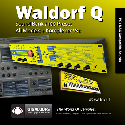 Product picture Waldorf Q & Komplexer Vst Sound Bank
