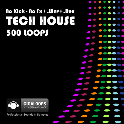 Product picture 500 Tech House Loops