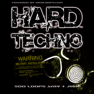 Product picture 500 Hard Techno Loops Par 2
