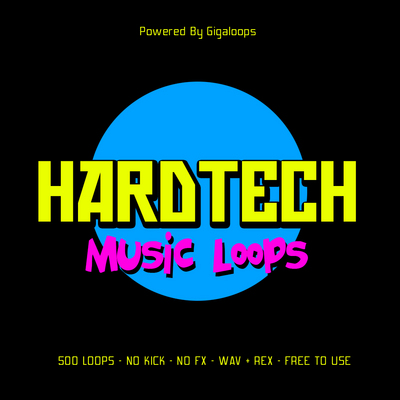Product picture 500 Hard Tech Loops Part 1