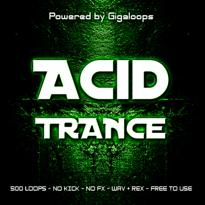 Product picture 500 Acid Trance Loops Part 1