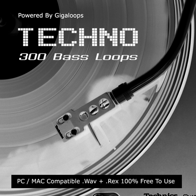 Product picture 300 Techno Bass Loops