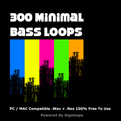 Product picture 300 Minimal Bass Loops